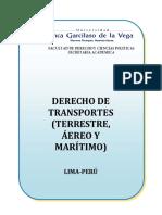 DERECHO DE TRANSPORTES (Silabo)