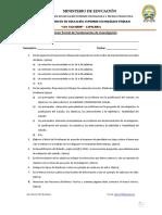 2do Examen Parcial de Fundamentos de la Investigacion