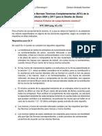 Comparación de las Normas Técnicas Complementarias (NTC) de la CDMX en su edición 2004 y 2017 para el Diseño de Sismo