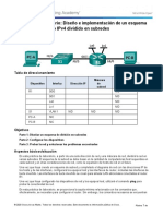 8.1.4.8 Lab - Designing and Implementing a Subnetted IPv4 Addressing Scheme