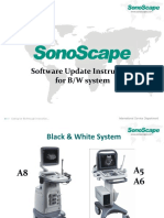 Software update instruction for BW system