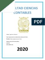 Organización de la Administración Aduanera en el perú