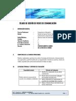 SILABO DE DISEÑO DE REDES DE COMUNICACION