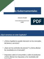 06 Politicas gubernamentales