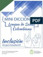 Mini-diccionario Lengua de Señas UNAL