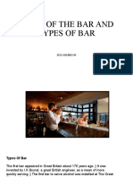 PARTS OF THE BAR AND TYPES OF BAR