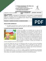 GUIA AUTOCUIDADO DIRECCION DE CURSO Grados 4,5,6,7