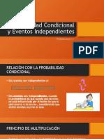 Probabilidad Condicional y Eventos Independientes