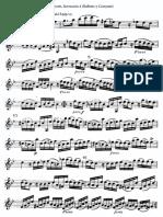 Bonporti Invención 4 (Balleto y Corrente) Violin