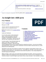 An Insight Into Child Porn - Wikileaks