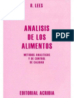Analisis de los alimentos 2°ed. - R. Lees.pdf