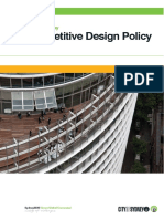 competitive design policy