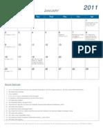 Jacobite Calendar 2011