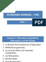 PPT ECONOMIA GENERAL - FIEE Semana 7 (2)