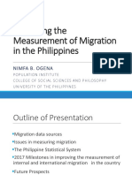 Improving the Measurement of Migration in the Philippines
