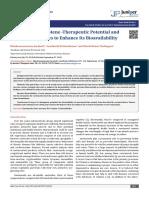 Beta Carotene -Therapeutic Potential