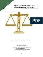 synthèse sociétés commerciales 1 (droit général)