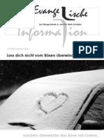 Evangelische Information Dezember 2010