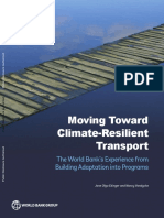 Moving toward climate resilient transport, World Bank