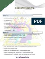 Devoir de synthèse 2 (corrigé)