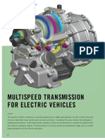 Multi Speed Transmission for Elect