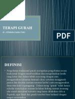TERAPI GURAH