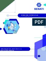 FORO_CONSULTAS ACADÉMICAS