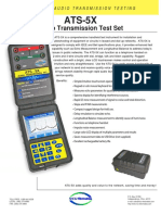 Ats-5x Audio Test Set - Specification