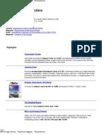 2009 ISI Impact Factors __