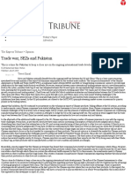 Trade war, SEZs and Pakistan _ The Express Tribune