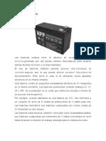 baterias de sfv