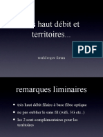 Très haut débit et territoires, Jean-Michel Billaut