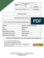 RELATÓRIO DE MANUTENÇÃO ANUAL DE SUBESTAÇÃO 2019 - HAPVIDA HOSPITAL ADRIANÓPOLIS