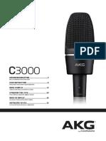 MANUAL-AKG-C-3000