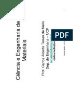 Ciência e engenharia dos materiais:(power point)