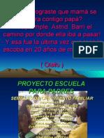 PROYECTO ESCUELA PARA PADRES
