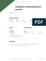 Grammarly Report A1-AnisHengChan Kampung Bintawa Hilir