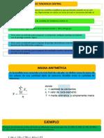 MEDIDA CENTRALES