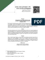 la formación como principio y fin de la acción pedagógica (1)