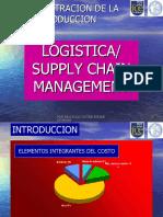 SCM - Supply Chain Management presentation in Powerpoint