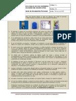 Guía uso del Dosimetro