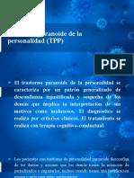 TRASTORNO DE PERSONALIDAD PARANOIDE