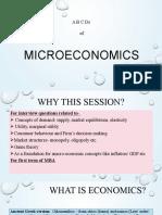 Micro-economics 2019