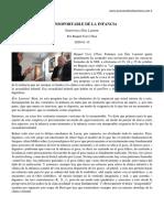 Éric Laurent - 2020-01-15 Lo Insoportable de la Infancia - Entrevista por Raquel Cors Ulloa