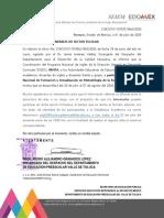 oficio 3663 PRONI Jornadas Virtuales