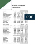Analisis Horizontales y Verticales