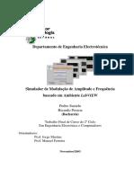 modulações em amplitude - desvio de freq e fase no receptor - pag 29