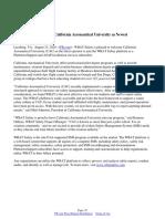 WBAT Safety Welcomes California Aeronautical University as Newest Platform+ Subscriber