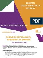 5 REGIMEN DISCIPLINARIO DE LA EMPRESA