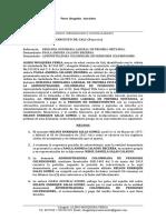 DEMANDA PENSION SOBREVIVIENTE - PAOLA ANDREA CALAUSU- Condicion mas beneficiosa.[1670]